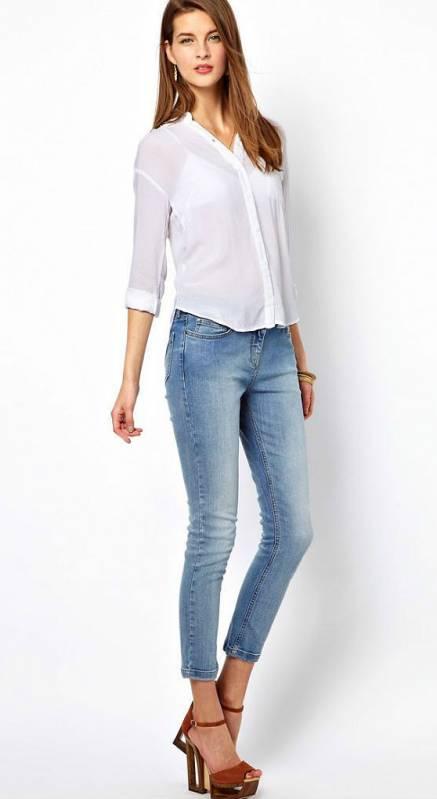 9c2aa974bece Блузка с джинсами – классическое сочетание для стильных и модных ...