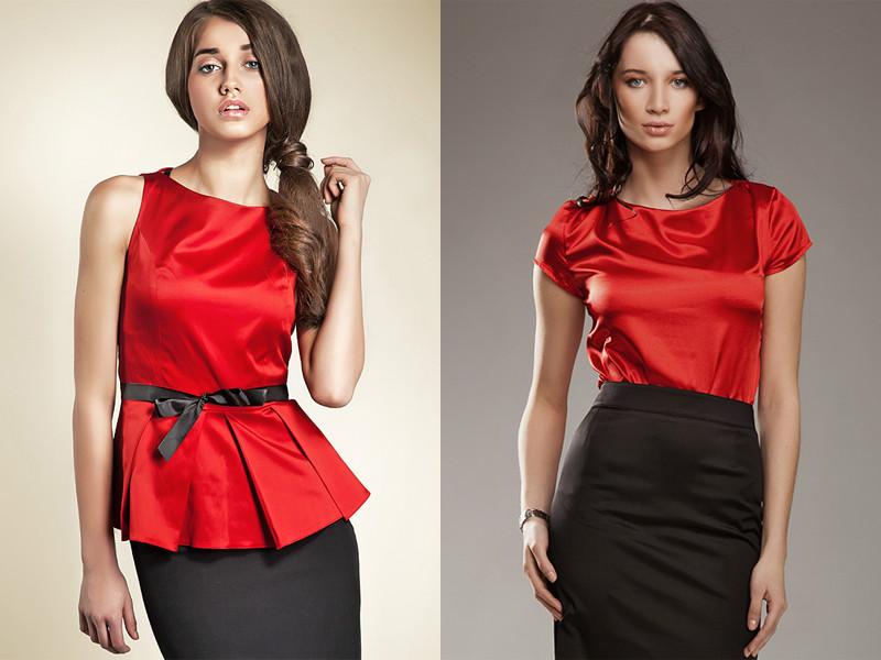 d81e8da999e Красная блузка – залог уверенности в себе