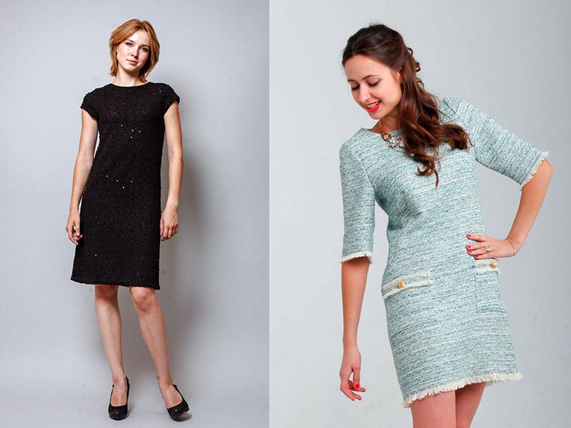 1f5148f9155 Утонченность и элегантность платья в стиле Шанель