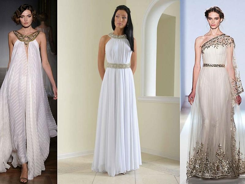 a9f6a63a57d Свадебные платья в греческом стиле  создайте чувственный образ ...