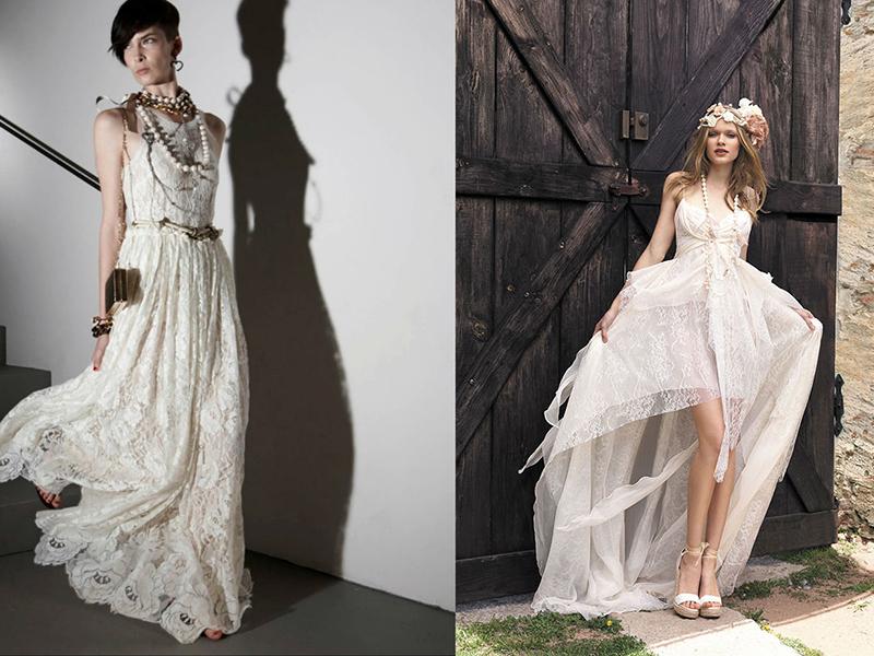 e360f1dd9328173 Струящееся легкое платье создаст нежный и романтичный образ невесты. Оно  позволит выбрать местом проведения праздника не кафе или ресторан, а  необычное ...