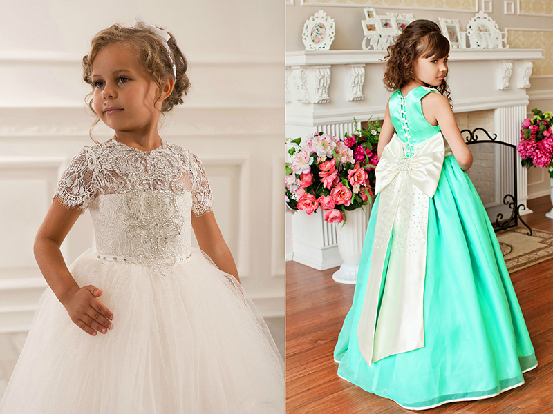 dfc28688bd9 Вечерние платья для девочек  фасоны