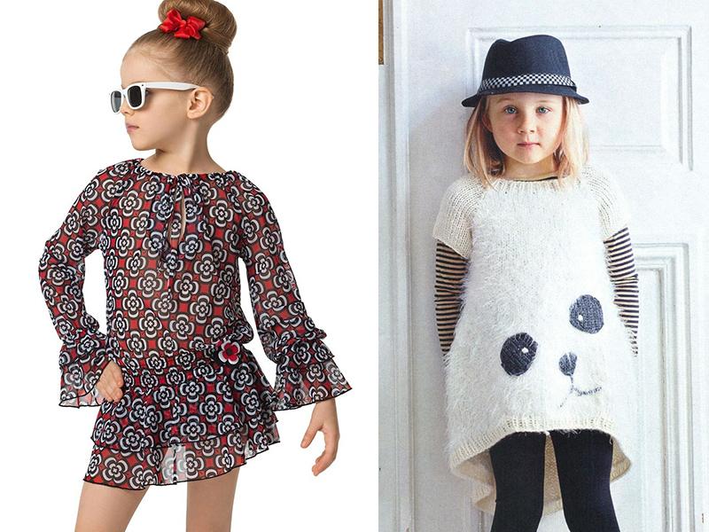 e8a1b6ae10b Современные фасоны детских платьев  примеры каждого стиля