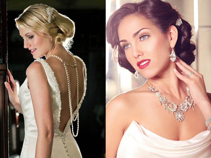98871cc7fc9 Наиболее подходящей прической для платья с открытой спиной являются  собранные в пучок волосы. Для создания стильной свадебной укладки можно  использовать ...