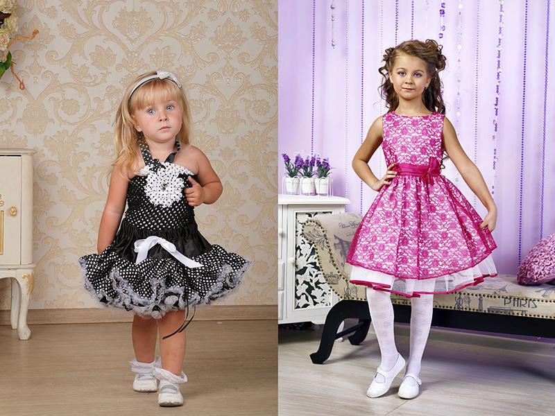 ef4416c4f4d Детское платье в стиле стиляг – лучший выбор для девочек