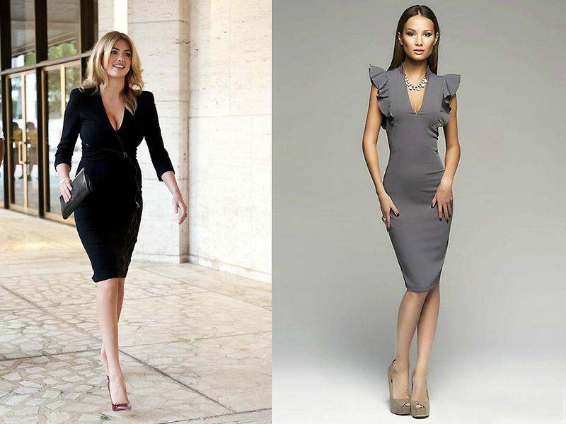 16da2ee6eea Выбираем платья с декольте  советы и рекомендации стилистов