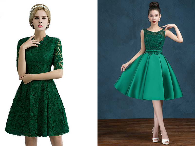 d00e2cc43cb Разнообразие моделей платьев. Когда девушки видят вечернее платье  изумрудного цвета ...