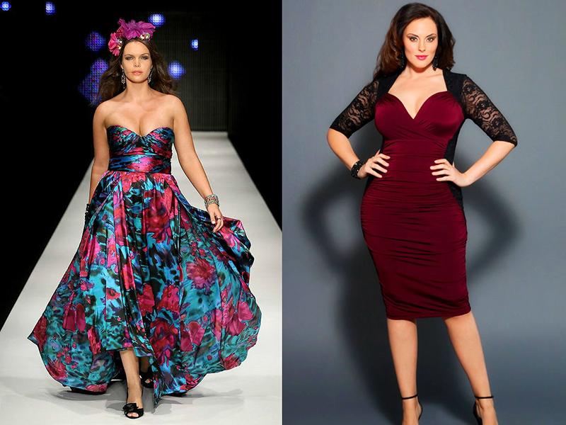 1ae37171b6b5 Вечерние платья для полных женщин: подчеркнут вашу стать | Мода от ...