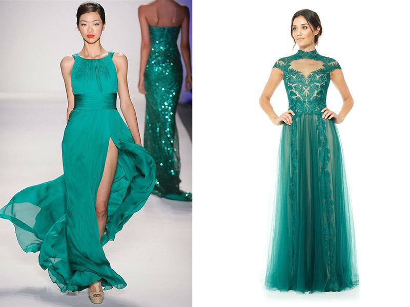 d279f202f31 Атмосферный и яркий образ поможет создать вечернее платье из шифона.  Красиво выглядит наряд