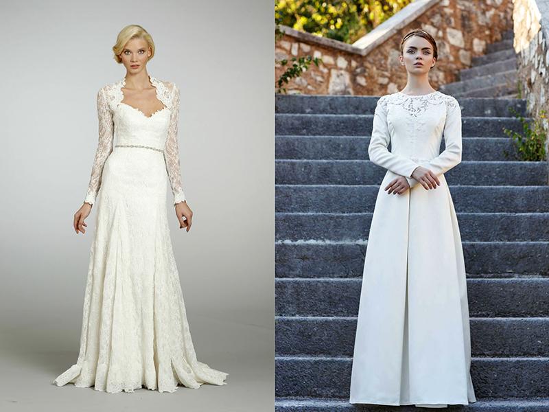 063095618d7 Платье в пол с длинными рукавами – универсальная модель для любого образа