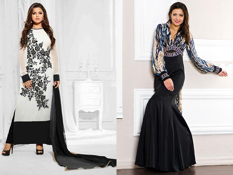 7117cd88925 Платье в пол с длинными рукавами – универсальная модель для любого ...