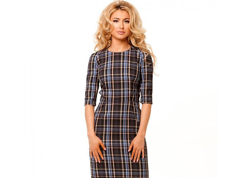 26d469bb529e122 Сегодня снова стало трендовым платье в шотландскую клетку с рисунком под  названием «тартан». Это образец особого стиля, создающий образ милой и ...