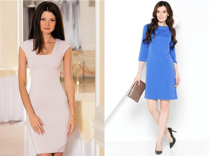 84cfd9c191d Шить летние деловые платья желательно из тканей на основе хлопка или льна.  Чисто льняную одежду использовать не рекомендуется