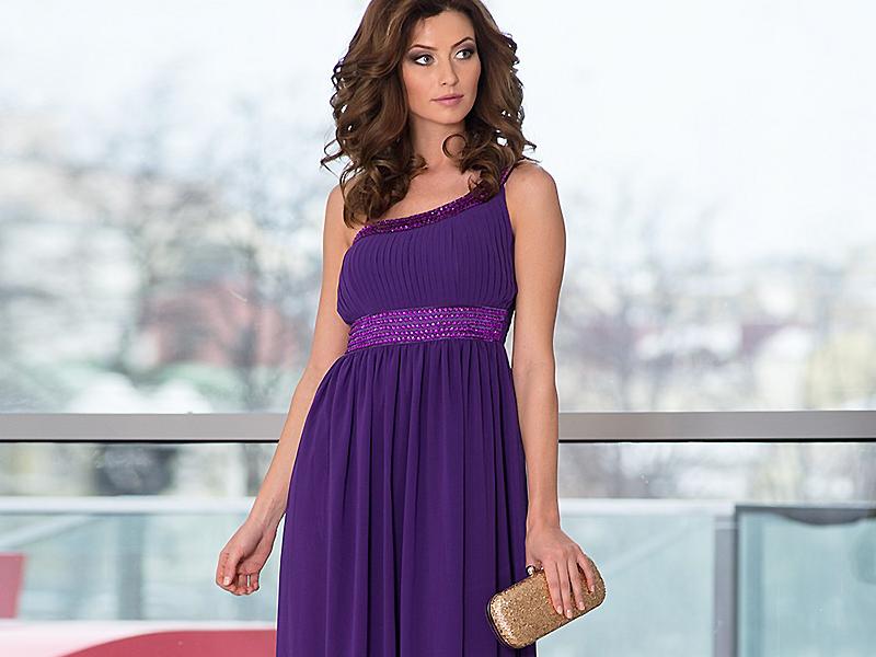 29de11a911f59dd Сиреневое платье: как и с чем сочетать? | Мода от Кутюр.Ru