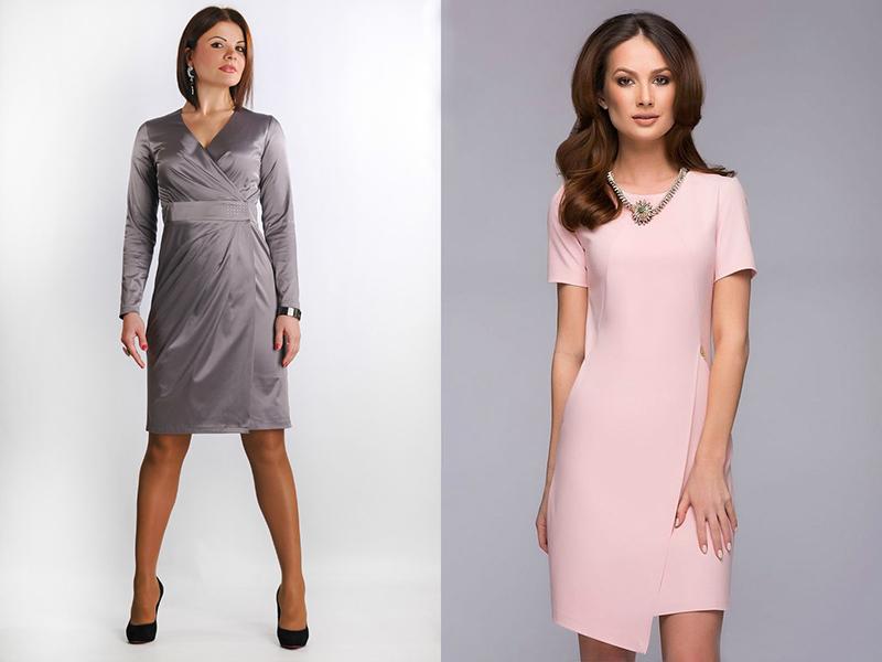 f95e1a561f95ae7 Для полных женщин лучше всего подойдет длинное вечернее платье с запахом,  повязанное на талии мягким поясом. Юбка тюльпан или широкий клеш  великолепно ...