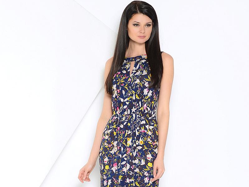 9c88dc35b2b Нежное платье в цветочек для романтичной барышни