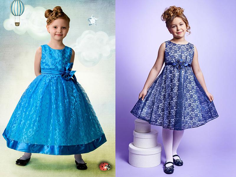 96b3b446277 Современные фасоны детских платьев  примеры каждого стиля