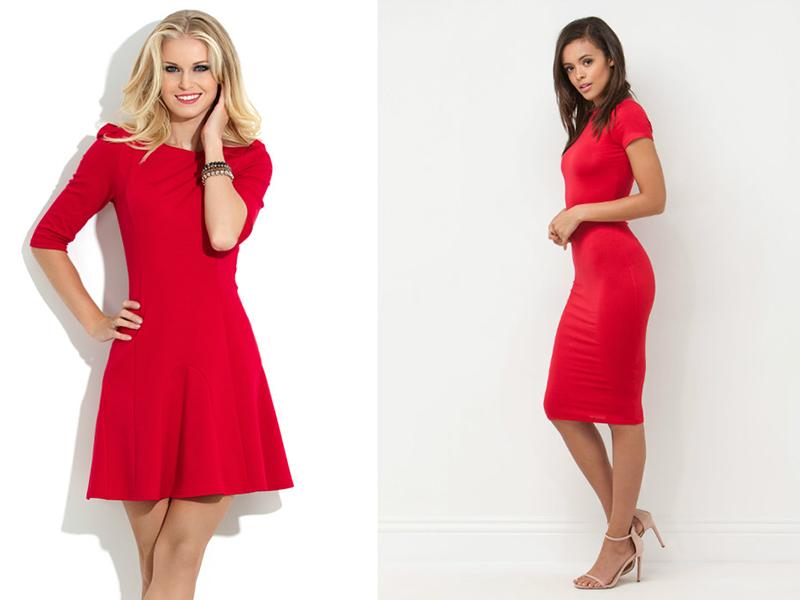 fe336e61210 Платья красного цвета  привлекут к себе внимание и сделают вас ...