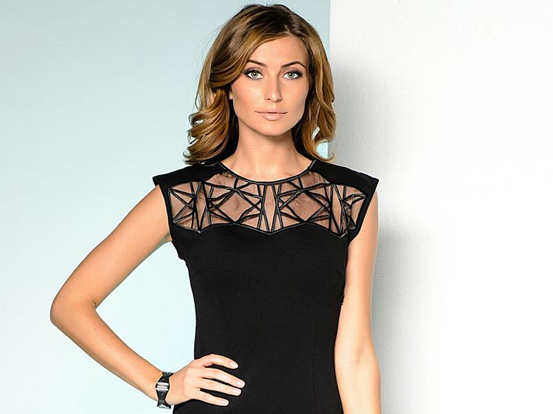 ad638438f85dcd0 Можно увидеть платья с классической кокеткой от Виктории Бекхем, Karen  Millen или необычные модели современного модерна от брендов ZARA, Colin's,  LACOSTE, ...