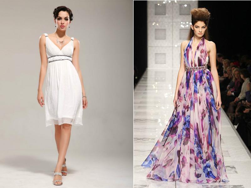 e11e823e432 Классические модели – это платье в пол. В греческом стиле