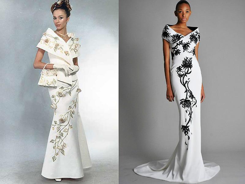 30fe1ad7095 Не так давно вошло в моду свадебное платье в восточном стиле