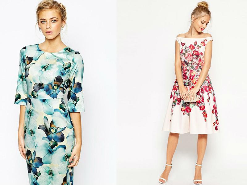c837a96c012 Нежные и романтичные платья с цветочным принтом