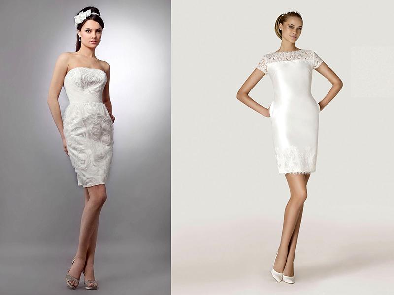 20c8befc562 Эффектно выглядит свадебное платье-футляр из кружева. Такой наряд может  быть сшит из цветного кружева на белом чехле. Не менее красиво будет  смотреться ...