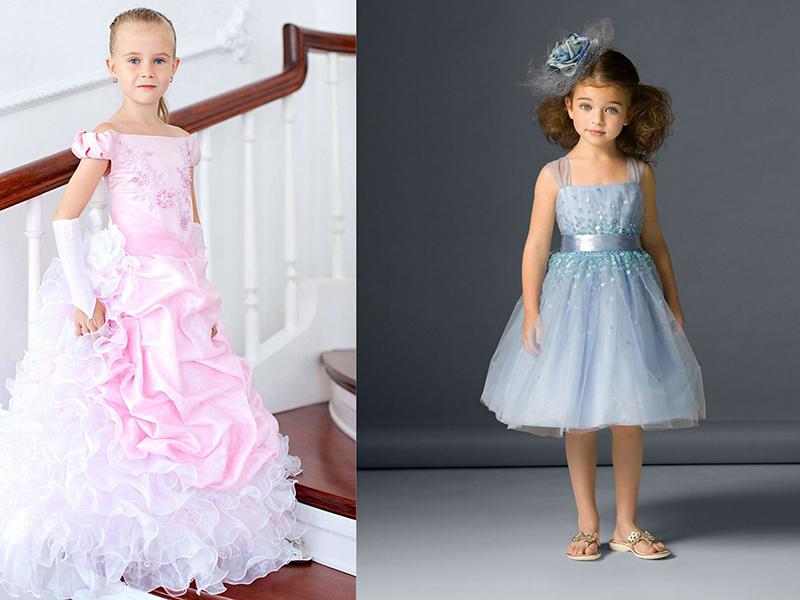 dd9fcee9456 Юным выпускницам фактически предлагают примерить уменьшенные копии нарядов  их мам, выполненных в стиле «принцесса».