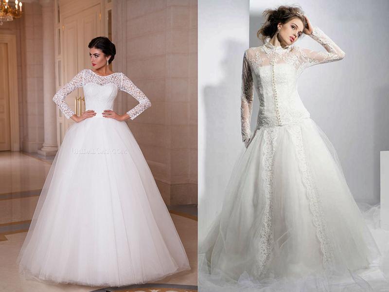 a89a5d56721 Закрытые свадебные платья  создаем романтический и возвышенный образ ...