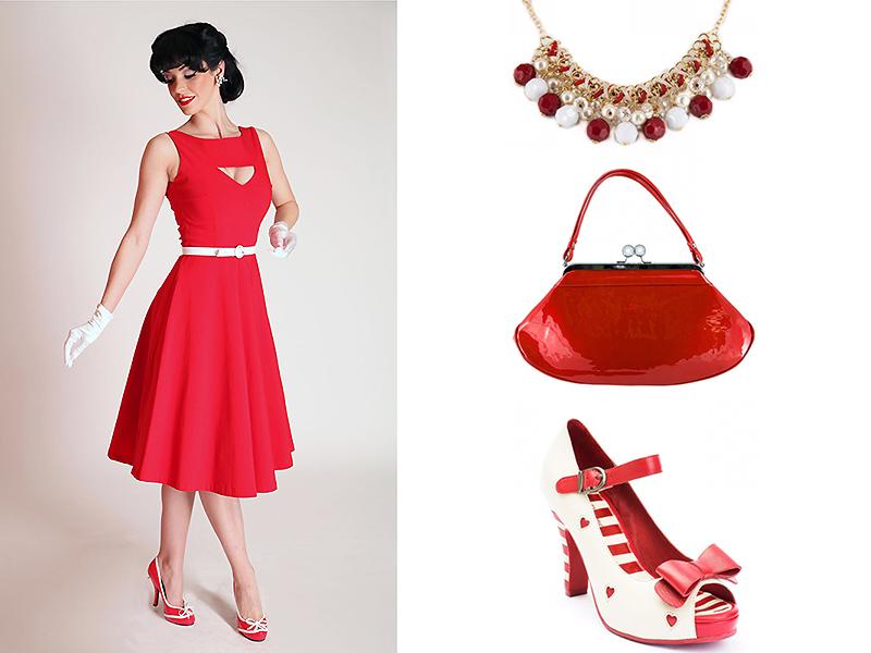 32765099153c953 Подбираем аксессуары к красному платью: основные правила | Мода от ...
