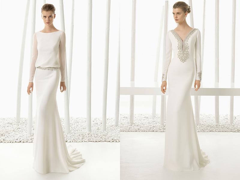 564bd84fb8b Закрытые свадебные платья  создаем романтический и возвышенный образ ...