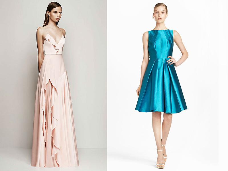 673cdf068cd9c1b А-силуэт является универсальным, такой фасон может иметь и деловое платье,  и наряд для особого случая.