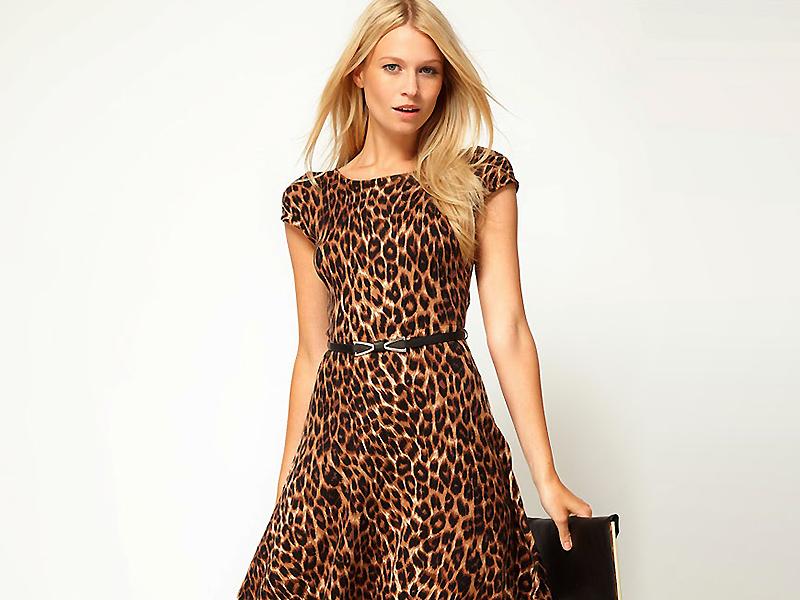 0906991dca60a7f ... и стильных предметов гардероба является леопардовое платье. Трудно  однозначно сказать, с чем связана любовь женщин к животным окрасам.