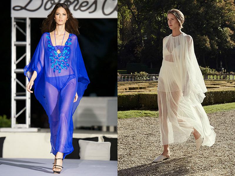 7bbaba4e5c6 Пляжное платье может быть полностью сшито их прозрачной ткани