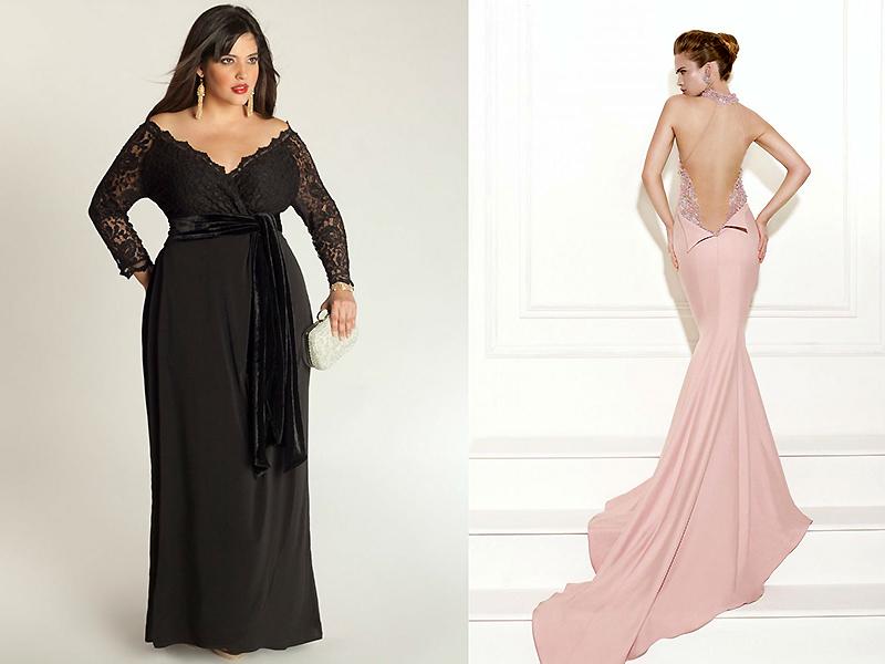 5f02cec6158 Кому можно носить платье с открытыми плечами