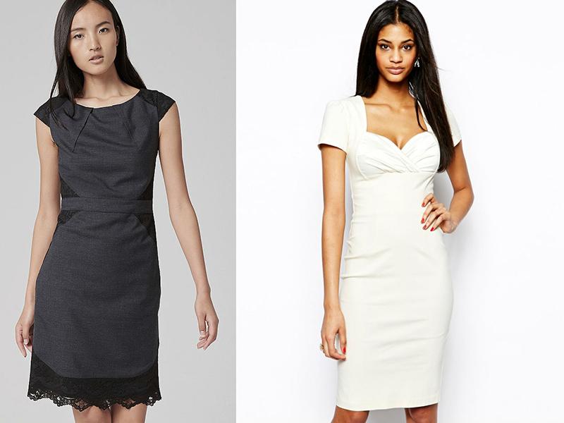 41796005 Классическое платье-футляр – фасон для любого случая