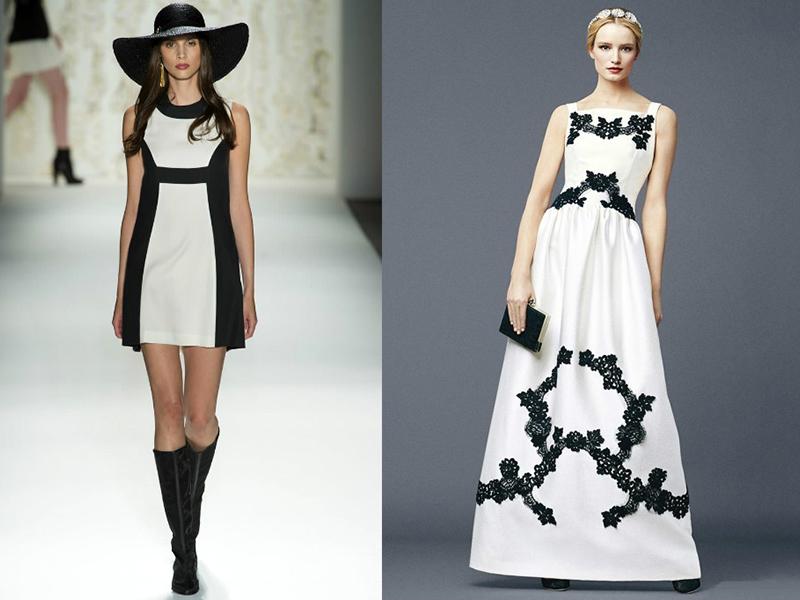7563d858903 Беспроигрышным вариантом является комбинация черного и белого цвета. Черное  миниатюрное платье представила миру Шанель в 1926 году в память о любимом  ...