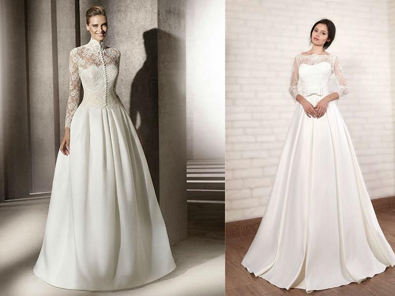 ecff17b024c9985 Итак, свадебные платья для венчания в церкви обязательно должен быть  скромным и целомудренным. Исключаются такие элементы, как: