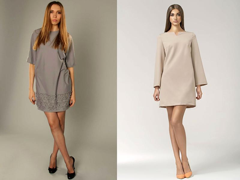 80e227cf8d2 Популярное платье свободного кроя – богатство дизайнерской фантазии ...