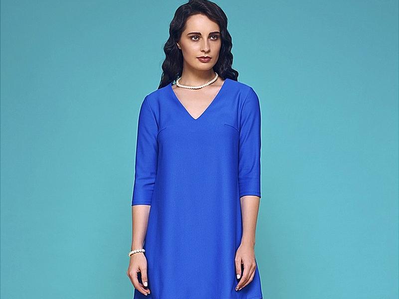 196b60becfb Платье свободного кроя является самым подходящим вариантом демократичной  одежды