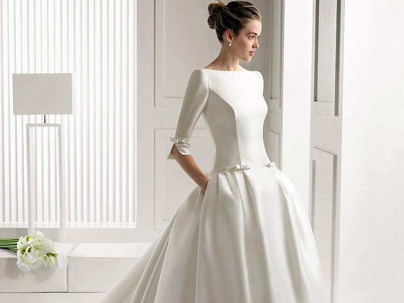 8965452f9df8b4c Свадебные платья для венчания: основные требования при выборе модели ...