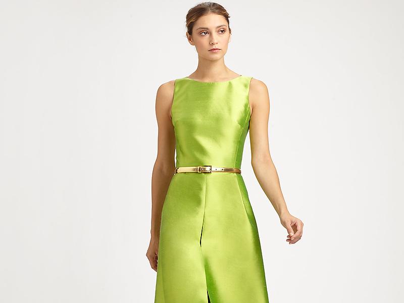 de5686f13e68426 Шелковые платья: популярные фасоны и модели | Мода от Кутюр.Ru