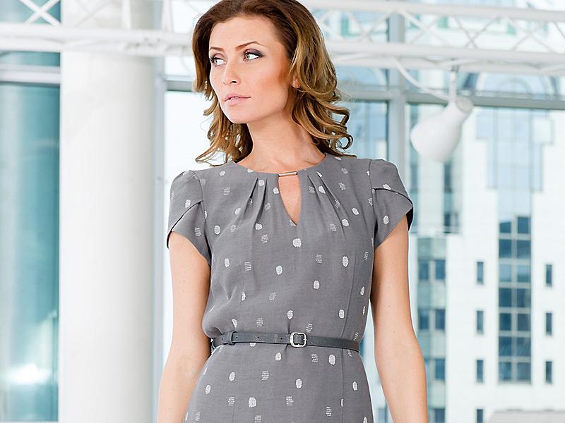 b01c80283e6 Офисное платье  формируем деловой гардероб