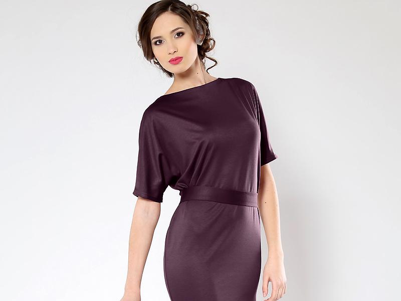 c6f44645a61 Классическое платье с цельнокроеным рукавом