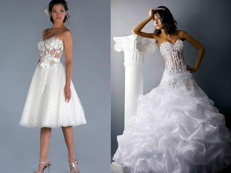 5bf1b655cdc Свадебные платья с корсетом  в чем причина успеха