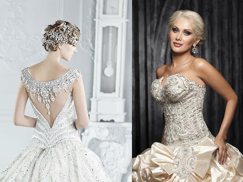 2e3050d841d4f48 Особым вниманием хочется отметить свадебное платье с камнями. В таком  фасоне невеста станет настоящей богиней. Широкий выбор камней Сваровски по  цвету и ...