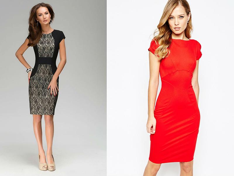 85475d73c37 Классическое платье-футляр – фасон для любого случая