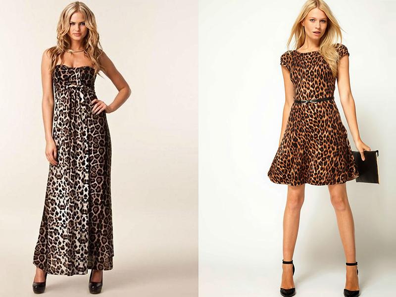 24d149c0a40e4db Модели длиной в пол больше пригодны для вечеринок, праздников,  торжественных событий. Длинное леопардовое платье создает образ уверенной и  значимой женщины, ...
