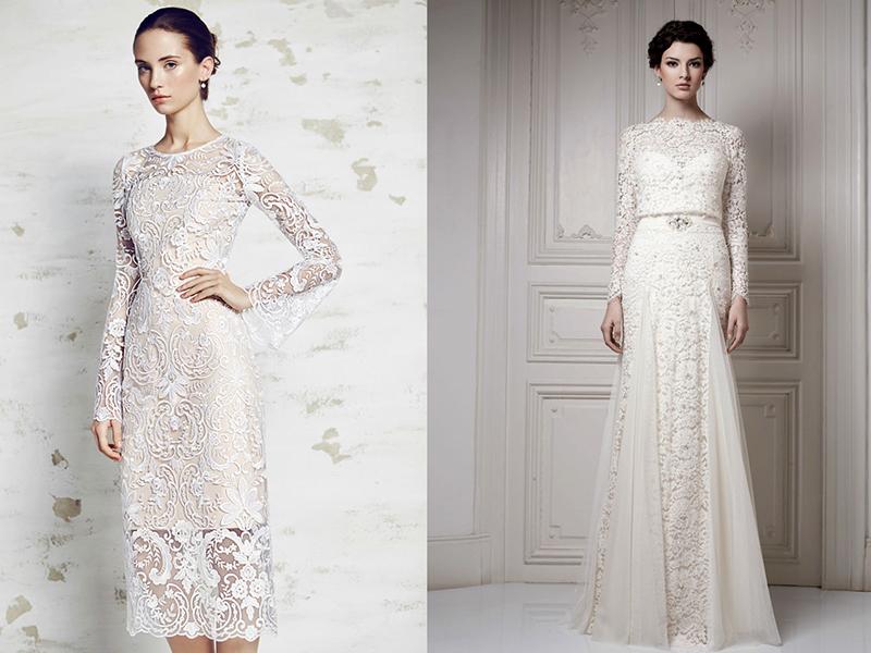 0dffa8561080657 Таким образом, наряд для венчания должен представлять собой закрытое платье  длиной до колен или с еще более длинной юбкой. Но не стоит думать, ...