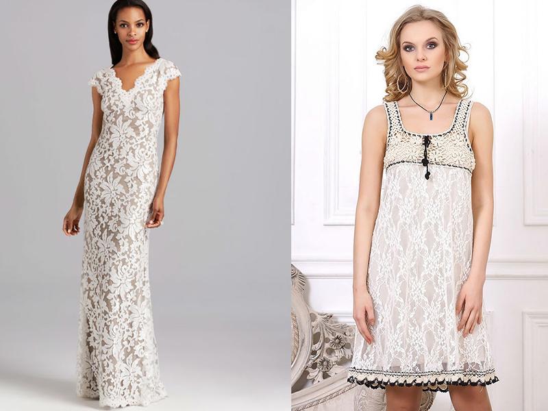 e4185101ba9 Платья в пол. Длинные платья из гипюра смотрятся роскошно